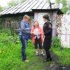 Комиссионный рейд в частном секторе Кузнецкого района (фото)